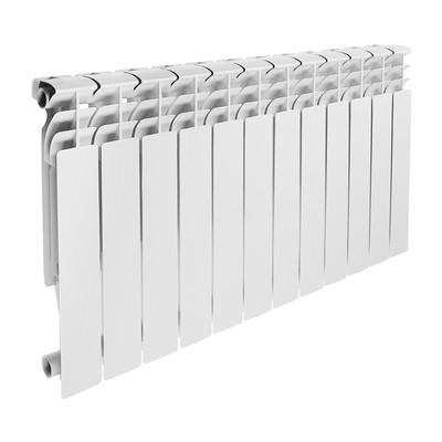 Радиатор алюминиевый Lammin ECO, 500 х 100 мм, 12 секций