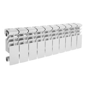 Радиатор алюминиевый Lammin ECO, 200 х 100 мм, 10 секций