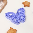 Форма для вырезки теста Леденцовая фабрика «Бабочка» - Фото 2