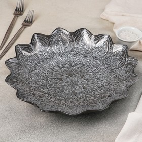 Блюдо сервировочное «Каменный цветок», d=30 см