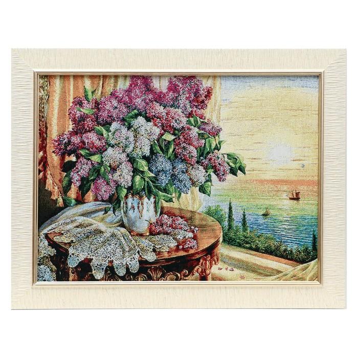 E161-30х40 Картина из гобелена 35х45