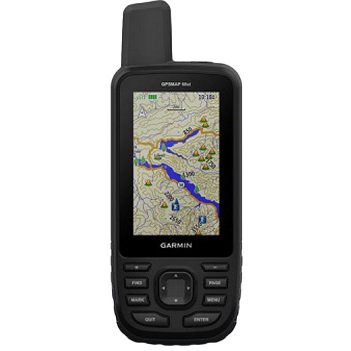 """GPS-навигатор Garmin GPSMAP 66ST Russia (010-01918-14), 3"""", Дороги РФ, ТОПО6, черный"""