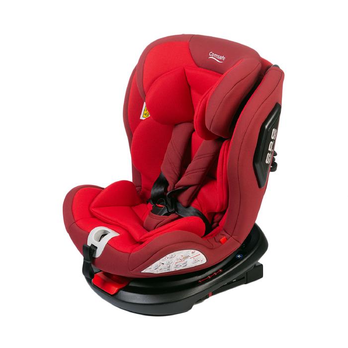 Автокресло Comsafe UniGuard CS008, группа 0+/1/2/3 (до 36 кг), цвет red