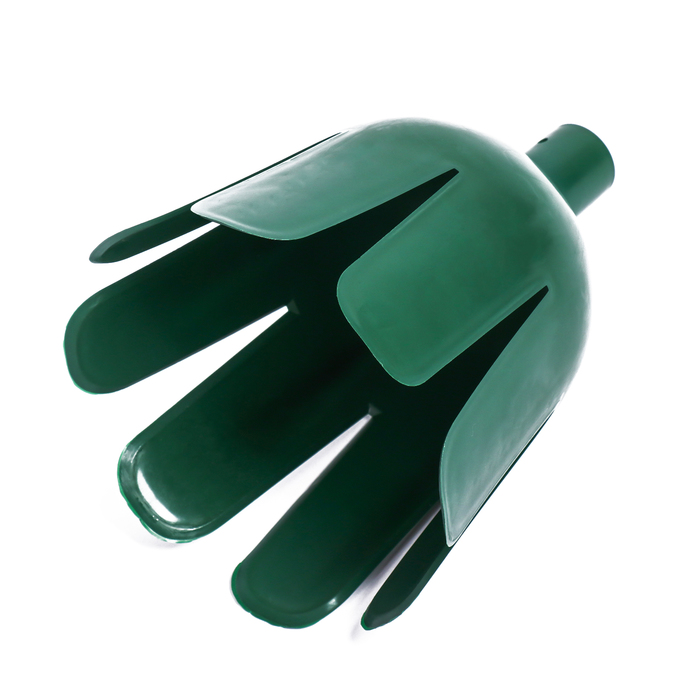 Плодосъёмник, d = 15 см, под черенок 24 мм, зелёный, «Тюльпан»