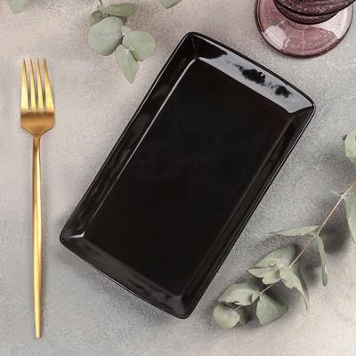 Блюдо Rosa nero, 12×20,5 см - Фото 1