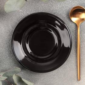 Блюдце универсальное малое Rosa nero, d=10,5 см