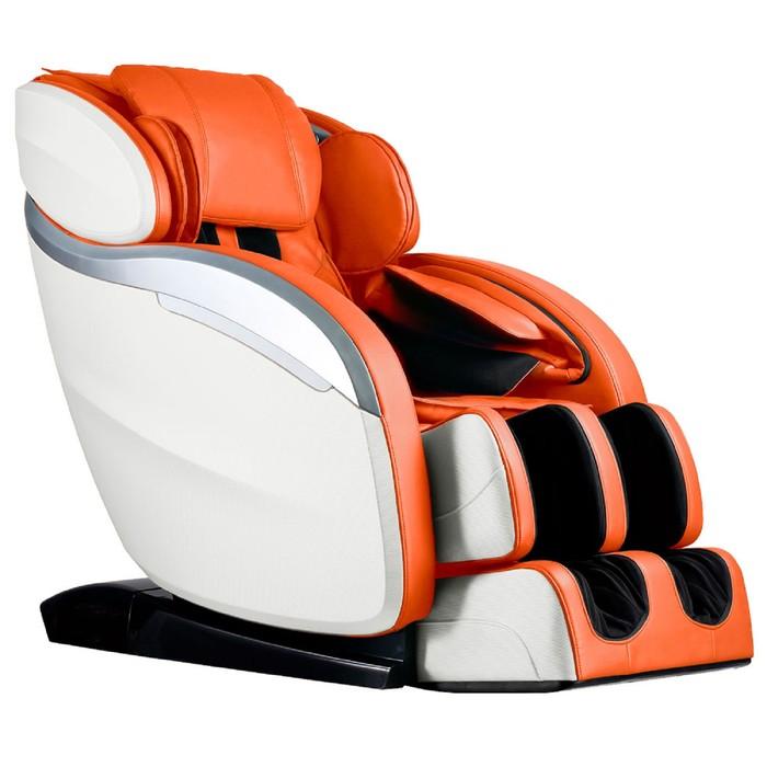 Массажное кресло GESS-830 Futuro, 11 программ, сканирование тела, колонки, оранжевое