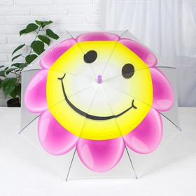 Детские зонты «Солнышко-цветок» 80×80×65 см, МИКС Ош