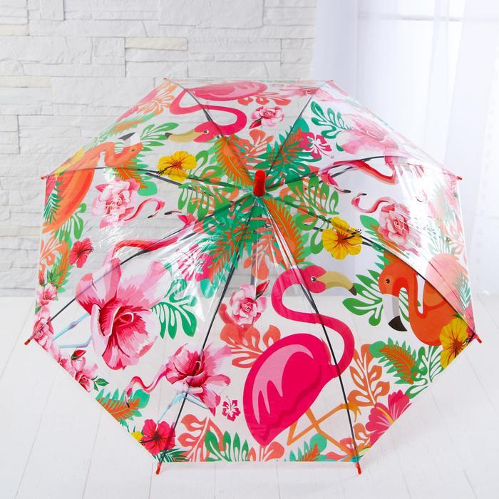 Детские зонты «Единороги» 80×80×65 см, МИКС