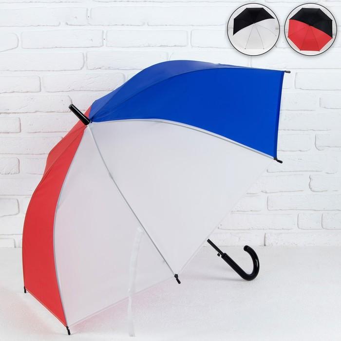 Зонт - трость полуавтоматический «Ассорти», 8 спиц, R = 49,5 см, цвет МИКС
