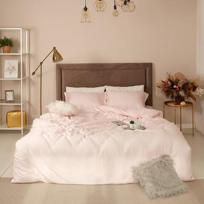 Постельное бельё 2сп Этель «Gloss», цвет розовый, 180х210 см, 235х250 см, 50х70+3 см -2шт
