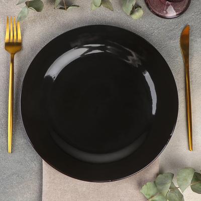 Тарелка Rosa nero, d=25,5 см - Фото 1