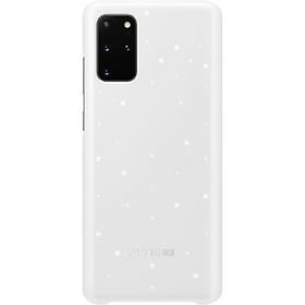 Чехол клип-кейс для Samsung Galaxy S20+ Smart LED Cover (EF-KG985CWEGRU), белый
