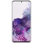 Чехол клип-кейс для Samsung Galaxy S20+ Smart LED Cover (EF-KG985CWEGRU), белый - Фото 2