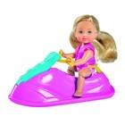 Кукла «Еви» 12 см, в купальнике на водном скутере