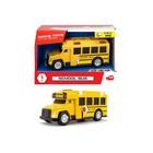 Школьный автобус со светом и звуком, 15 см