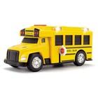 Школьный автобус со светом и звуком, 15 см - Фото 2