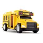 Школьный автобус со светом и звуком, 15 см - Фото 4