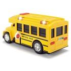 Школьный автобус со светом и звуком, 15 см - Фото 5