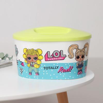 Шкатулка игрушечная LOL Surprise, овальная - Фото 1