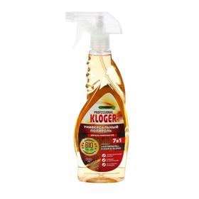 Чистящее средство Kloger Proff для мебели полироль 7 в 1 для любых поверхностей 500 мл