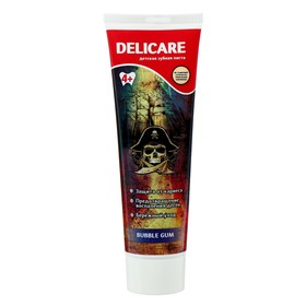 """Зубная паста Delicare для детей """"Бабл гам"""" от 4 лет 75 мл"""