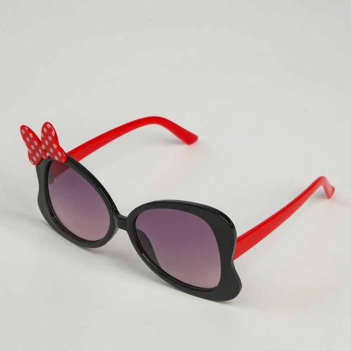 Очки солнцезащитные детские Мастер К., uv 400, 13х13.5х6.2 см, линза 4.1х4.4 см, микс