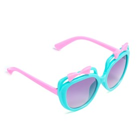 Очки солнцезащитные детские 'Мастер К.' 4.5 х 12 см, микс Ош
