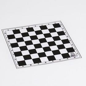 Поле для шашек виниловое 30х30 см Ош