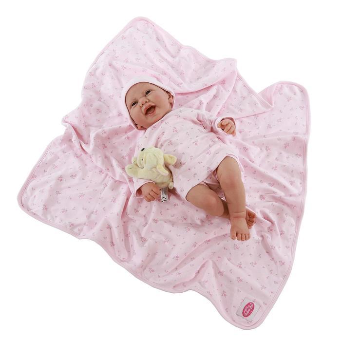 Кукла-младенец «Фуенсанта» в розовом, 40 см