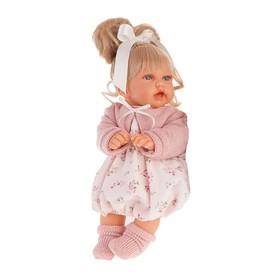 Кукла «Лухан» в светло-розовом, озвученная, 27 см