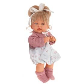 Кукла «Лухан» в темно-розовом, озвученная, 27 см