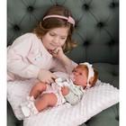 Кукла-младенец «Розарио» в розовом, 42 см