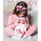 Кукла-младенец «Фатима» на розовом одеяльце, 33 см