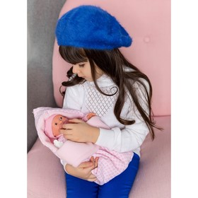 Кукла «Мерсе» в розовом» в конверте, плачущая, 27 см