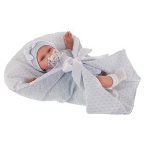 Кукла «Айна» в голубом, озвученная (детский лепет), 29 см