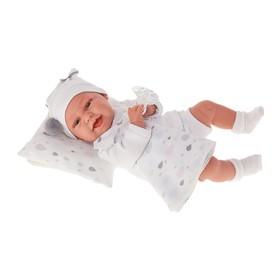 Кукла «Пенелопа» в белом, 34 см