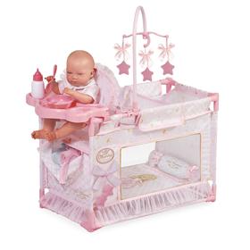Манеж-игровой центр для куклы с аксессуарами, 59 см