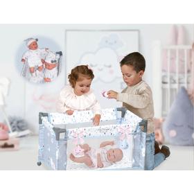 Манеж-кроватка для куклы, 50 см