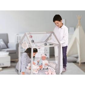 Кроватка для куклы с аксессуарами, 83 см