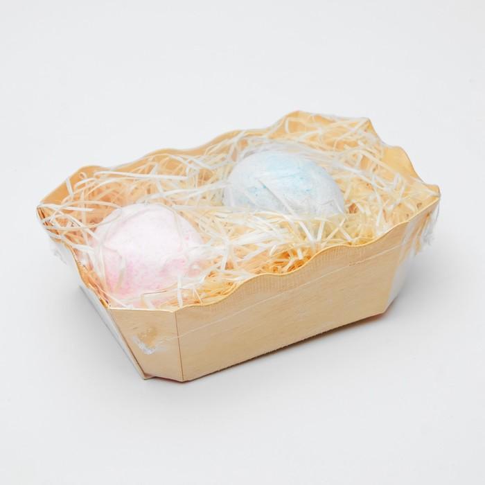 Бурлящий гейзер «Объятия нежности», яйца гейзеры 2 шт., «Бизорюк», 110 г.