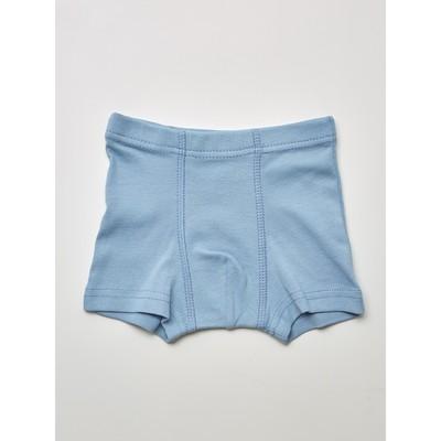Трусы-боксеры для мальчика, рост 110-116 см, цвет серый, голубой, 2 шт. - Фото 1