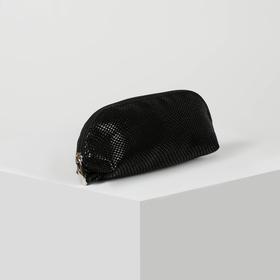 Сумка-косметичка, отдел на молнии, цвет чёрный