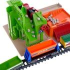 Железная дорога «Завод», работает от батареек, длина пути 10,67 м. - Фото 7