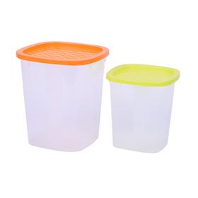 Набор пластиковых ёмкостей Oursson, 1.0/2.0 л, 2 шт