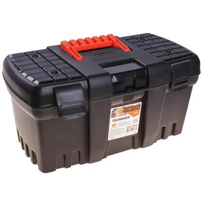 Ящик для инструментов BLOСKER Techniker, цвет черный, без внутреннего ящика - Фото 1