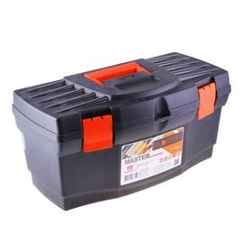 """Ящик для инструментов """"Master Economy"""", цвет черно-оранжевый"""