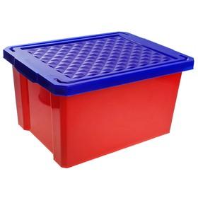 Ящик детский для хранения игрушек Start, 17 л, цвет красный