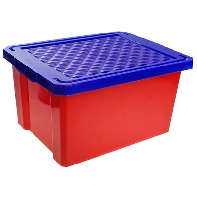 Ящик детский для хранения игрушек Little Angel Start, 17 л, цвет красный - Фото 1