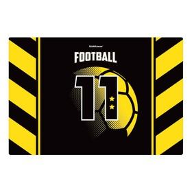 Накладка на стол пластиковая А3, ® Football Time, 430 х 290 мм, 550 мкм Ош
